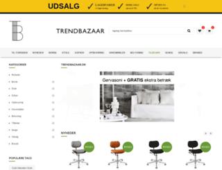 trendbazaar.dk screenshot