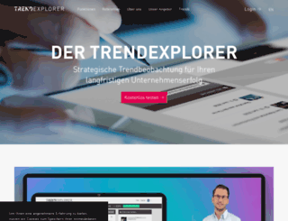 trendexplorer.de screenshot