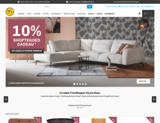 trendhopper.nl screenshot