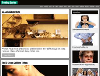 trendingstories.net screenshot
