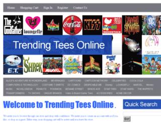 trendingteesonline.com screenshot