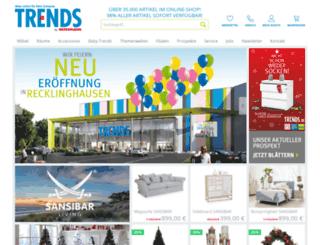 trends.de screenshot