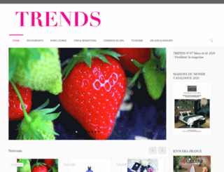 trendsmagazine.eu screenshot