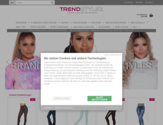 trendstylez.de screenshot