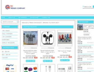 trendswholesales.com screenshot