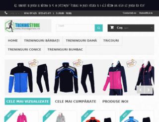 treningstore.ro screenshot