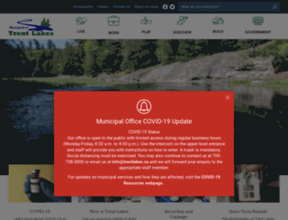 trentlakes.ca screenshot