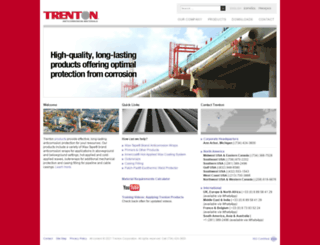 trentoncorp.com screenshot
