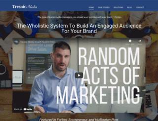 tresnicmedia.com screenshot
