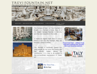 trevifountain.net screenshot