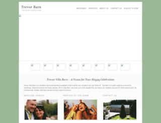 trevorbarn.co.uk screenshot