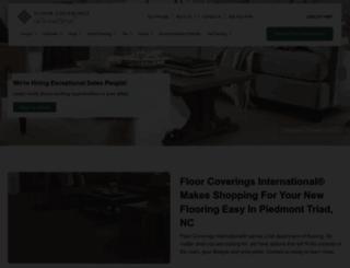triad.floorcoveringsinternational.com screenshot