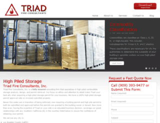 triadfireco.com screenshot