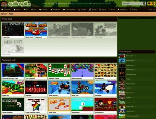 trials.spillespill.no screenshot