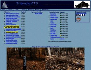 trianglemtb.com screenshot