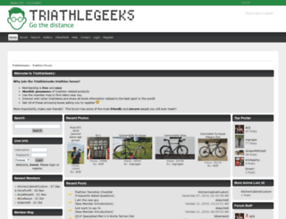 triathlegeeks.com screenshot