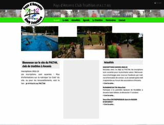 triathlon-ancenis.fr screenshot