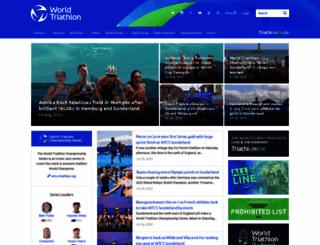 triathlon.org screenshot