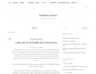triathlondilerici.it screenshot