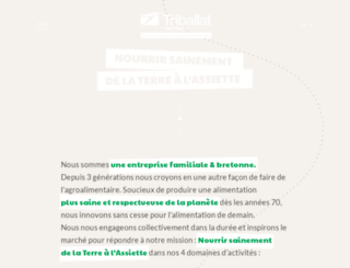 triballat.fr screenshot