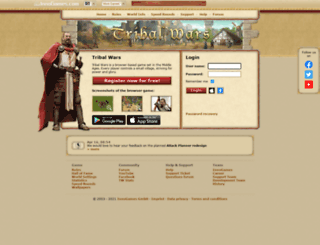tribalwars.org screenshot