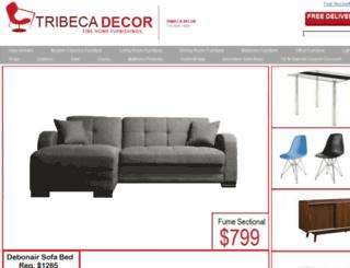 tribecadecor.com screenshot