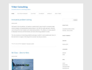 triber.co.za screenshot