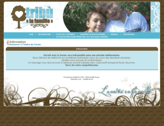 tribufamille.com screenshot