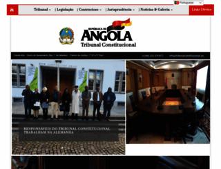 tribunalconstitucional.ao screenshot
