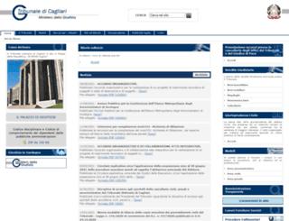 tribunaledicagliari.it screenshot