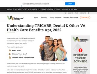 tricare.com screenshot
