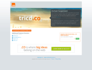 tricd.co screenshot