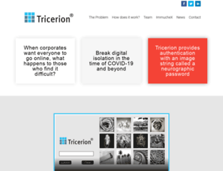 tricerion.com screenshot