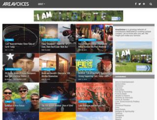 trickedartinc.areavoices.com screenshot