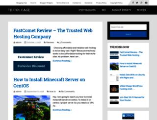 trickscage.com screenshot