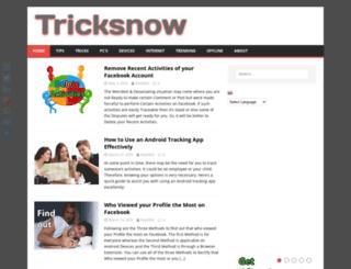 tricksnow.com screenshot