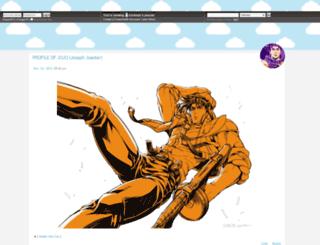 trickstar.dreamwidth.org screenshot