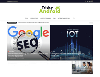 trickyandroid.com screenshot
