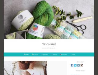 tricoland.com screenshot
