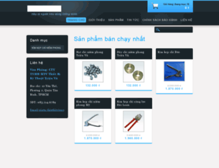 trieuvuseals.webnode.vn screenshot