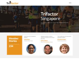 trifactor.sg screenshot