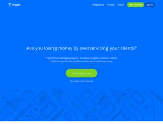 triggerapp.com screenshot