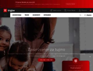 triglav.si screenshot