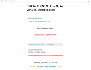 triktalk.blogspot.com screenshot