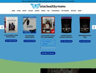 trimhealthymama.com screenshot