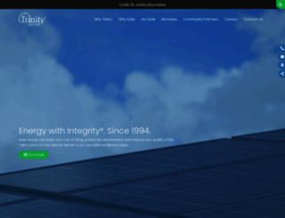 trinity-solar.com screenshot