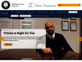 trinitysem.edu screenshot
