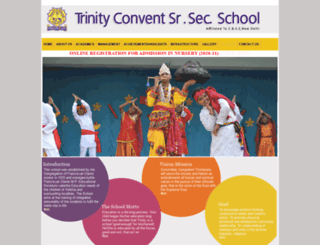 trinityvidisha.com screenshot