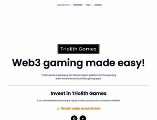 triolith.com screenshot