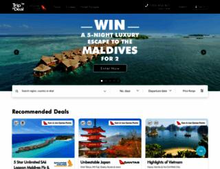tripadeal.com.au screenshot